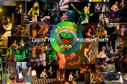 Choupa Pop été tour 2016 live Valse Gourmande